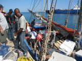 loading the boat