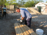 Jeff cutting boards for the roof
