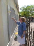Nancy painting again