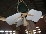 home made ceiling fan