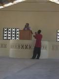 pulpit set up