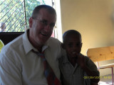 Pastor Jon and a new friend