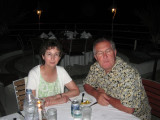 Martha and Bill @ Montana Hotel in Haiti
