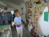 Nancy shopping