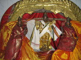 Uthsavar Sridhara perumal flanke by Sri and Bhoo Devi