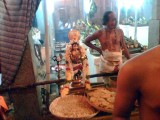 A long shot  of Sri PEai AzvAr of Madhavap PerumAL, Mylapore..jpg
