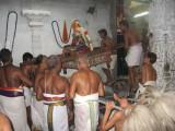 Sri ANDAL ascending the altars of DhEVAThir RajAn.jpg