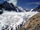 Glacier Blanc and Barre de Ecrin