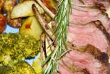 Rack of Lamb with Garlic, EVOO, and Lemon