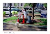 Street Bucket Drummer