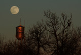 Moon & Water Tower (Original Composition)