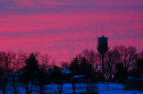 Water Tower Sunrise