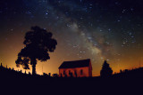 Milky Way & Old Brick Church