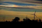 Sundog with Windmills