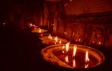 Jokhang Temple Candles, Tibet