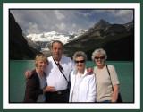 Hanging out at Lake Louise