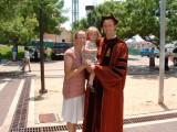 David's graduation