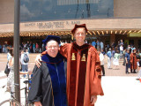 David and his advisor, Dr. Knapp