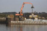 Unloading Barge