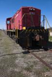 Engine at Lost Mound