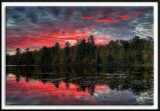 Sunrise at Lake Shumway