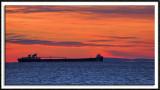 Iron Ore Tanker on Lake Superior