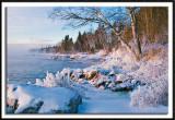 Lake Superior's Icy Shoreline