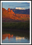 Fisher Towers Reflection