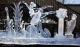 Sculpture sur glace / Ice sculpture