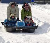 Course de pédalo des neiges / Snow Pedalo Race