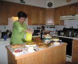 Linda prepared cous cous