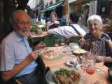 A restaurant on Rue Mouffetard