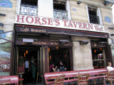 Lunch at the Horse's Tavern café