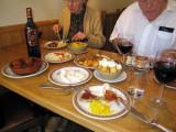 Tapas at La Maja restaurant