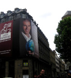 Poster of Zidane before the match with Italy