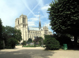Notre Dame from across the street