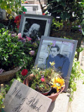 The grave of Serge Gainsbourg
