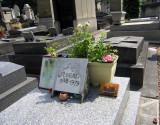 Jean Seberg's grave