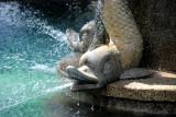 Detalle de la  Fuente de las Ranas