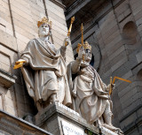 Josías y Manasés.