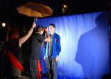 Noche en Blanco 2007, pasada por agua