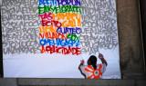 Graffitis en el Círculo de Bellas Artes