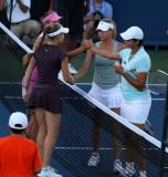 Chakvetadze & Azarenka win vs Kirilenko and Daniilidou