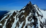 West Peak of Mount Anderson, Olympic Mountains, WA
