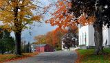 driveway to church