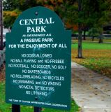 NO in Central Park
