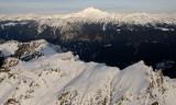 foggy peak and Glacier peak