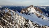 Bedal Peak and Mt Baker