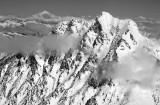 Mt Stuart and Glacier Peak