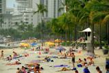 crowded Waikiki